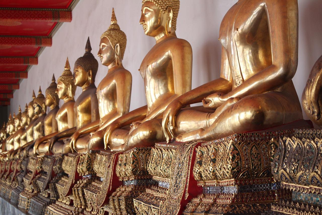 2019 タイ バンコク旅行 2日目 前編 タイ屈指の寺院ワットソートンへ!