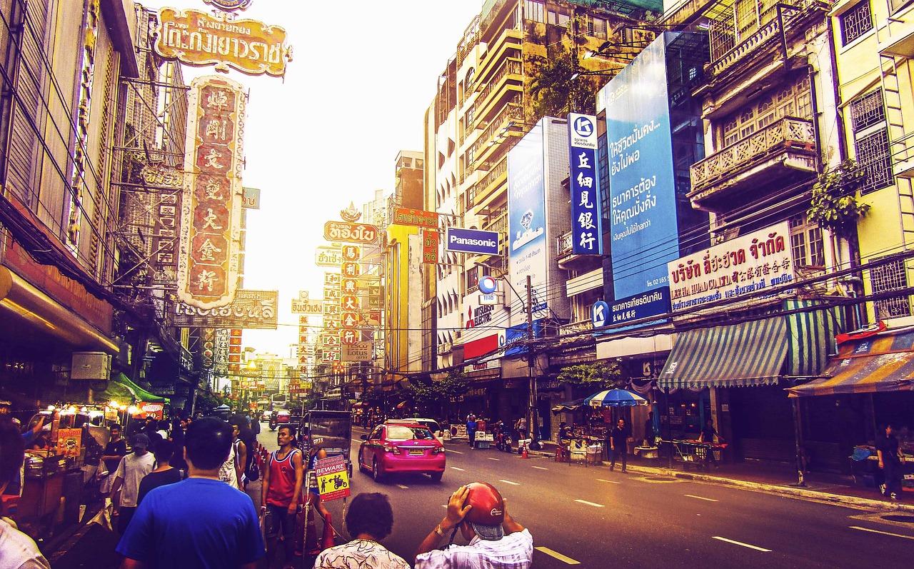 2019 タイ バンコク旅行 3日目 後編 バンコクのディープエリア、市場巡り。