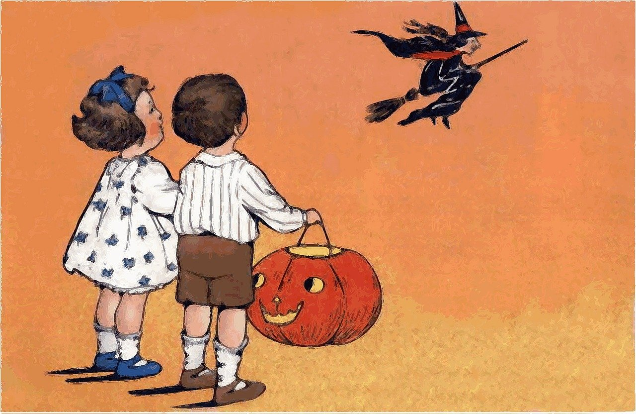 知ってた?ハロウィンの由来とハロウィンカラーのオレンジ、黒、白、紫、緑の意味